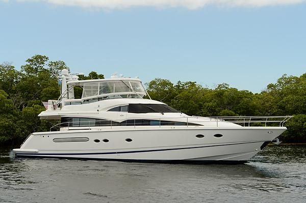 M/Y 'White Capps' - 62 Fairline Squadron