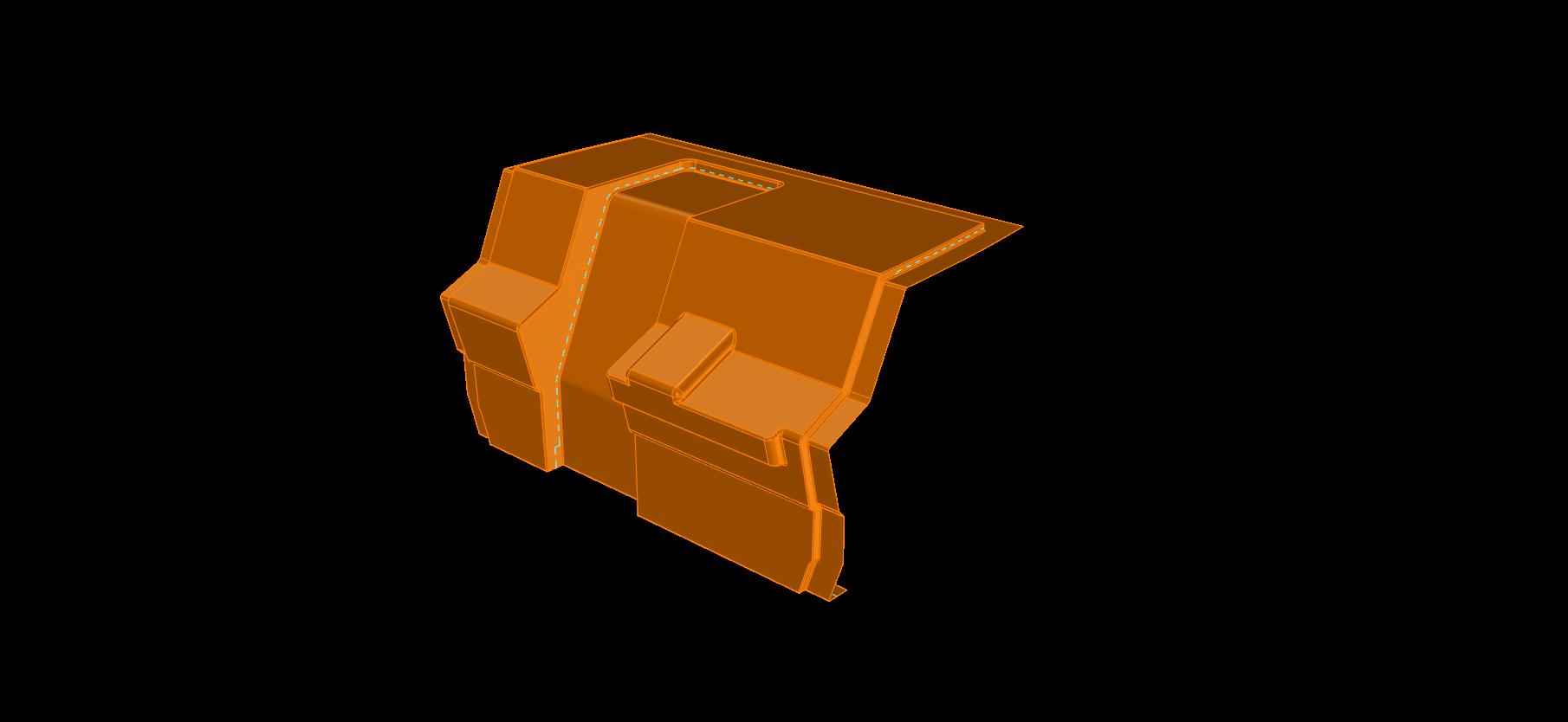 52' Center Console | Helm Shroud