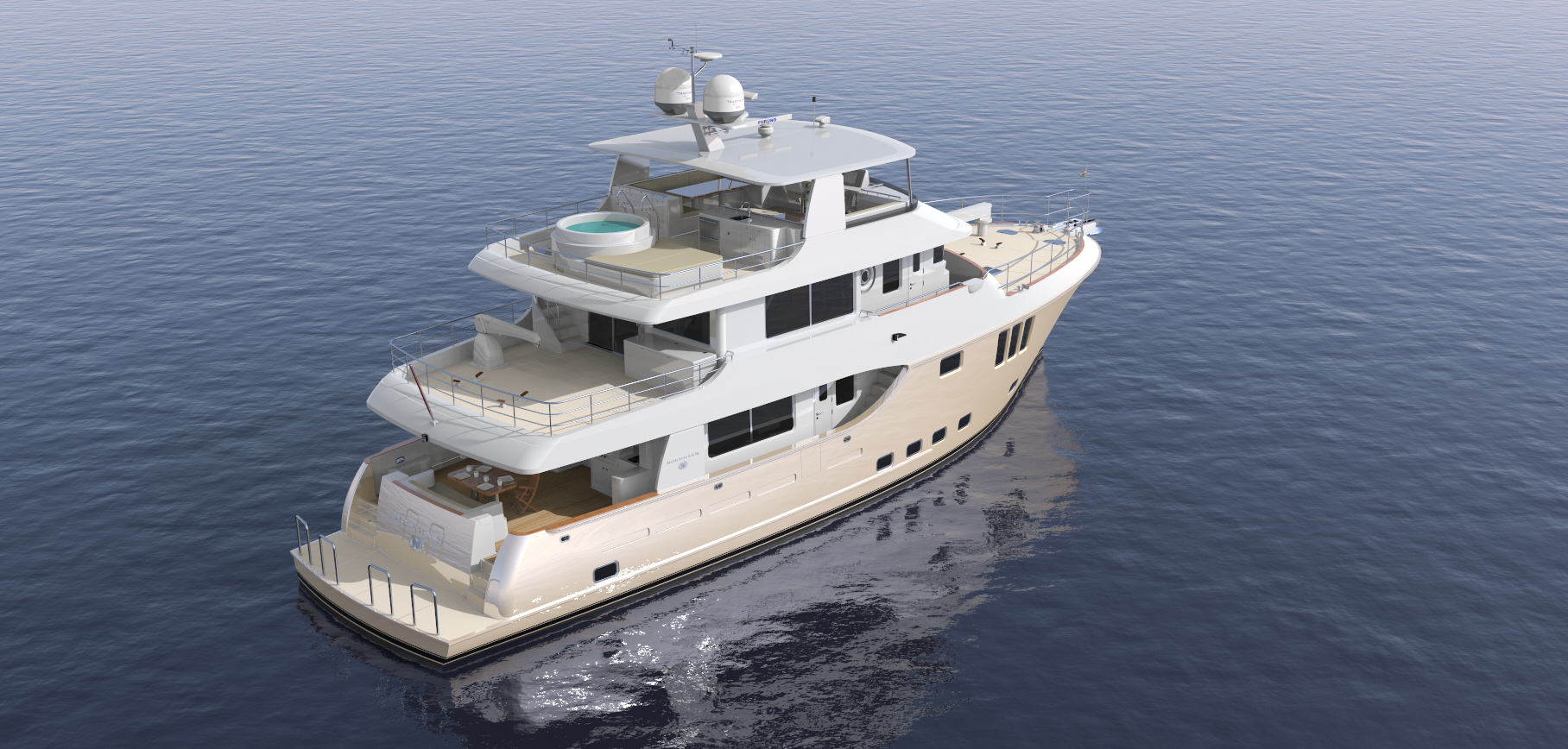 N80 | Nordhavn Yachts